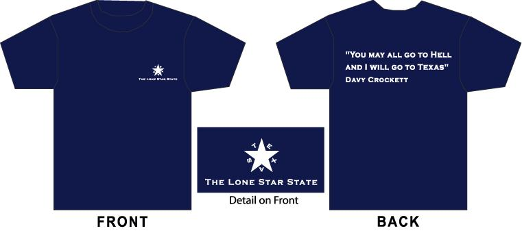 T-Shirt - Davy Crockett TG294