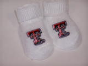 Newborn Booties - Texas Tech TG377